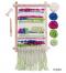 ชุดคิททอผ้าสำหรับผู้เริ่มต้น - โทนสีสันสดใส