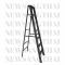 บันไดพับอลูมิเนียมทรงA  Newcon มาตรฐาน สีดำ ขนาด 7 ฟุต