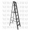 บันไดพับอลูมิเนียมทรงA  Newcon มาตรฐาน สีดำ ขนาด 8 ฟุต