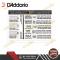 สายกีตาร์โปร่ง D'addario EJ13