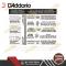 สายกีตาร์ไฟฟ้า D'addario EXL120-7