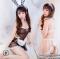 [[พร้อมส่ง]] ชุดแฟนซี cosplay ชุดคอสเพลย์ แฟนซี ชุดกระต่าย บันนี่ Bunny Bunnygirl ชุดกระต่ายมีลายดาวที่กระโปรงและหูกระต่าย ชุดนี้น่ารัก