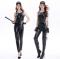 [[สินค้าหมด]] ชุดแฟนซี cosplay ชุดคอสเพลย์ ชุดตำรวจ Police ชุดหน่วยสวาท SWAT ชุดหนังสีดำ
