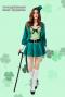 [[พร้อมส่ง]] ชุดแฟนซี cosplay ชุดคอสเพลย์ ชุดทักซิโด้ สีเขียว