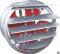 PCF พัดลมดูดอากาศทรงกระบอก พร้อมบานเกล็ดปิด-เปิด Model : SF-G2 Series