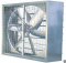 พัดลมฟาร์ม Model:  GLF Series Rectangular Industrial Exhaust Fan with Shutter