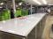 โต๊ะตัดผ้าชนิดลม หน้าไม้เคลือบแผ่นโฟเมก้า-ขาว ขอบStainless Model TA-01Fs