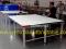 โต๊ะตัดผ้าชนิดธรรมดา  หน้าไม้เคลือบแผ่นโฟเมก้า-ขาว ขอบพลาสติก  Model :TM-01-Fp