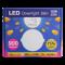 หลอดไฟ LED Downlight กลม 15 วัตต์ Gen2 สีเหลือง warmwhite