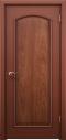ประตูไม้แดงเอ็นจิเนียร์บานลูกฟัก1ช่องโค้ง(ไม่ทำสี) 90x200 ซม.