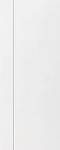 ประตู uPVCรุ่นภายนอก EXTERA สีขาว ลายไม้ เซาะร่อง 1 เส้นตรง